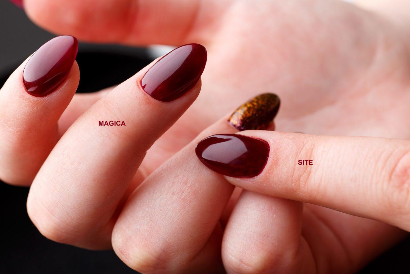 осенний маникюр, ногтевой дизайн, бордовые ногти, красные ногти, винный цвет, маникюр 2020, комбинированный маникюр, блёстки на ногтях