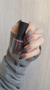 осенний маникюр, маникюр градиент, серый свитер, серые ногти, дизайн ногтей, ногти омбре