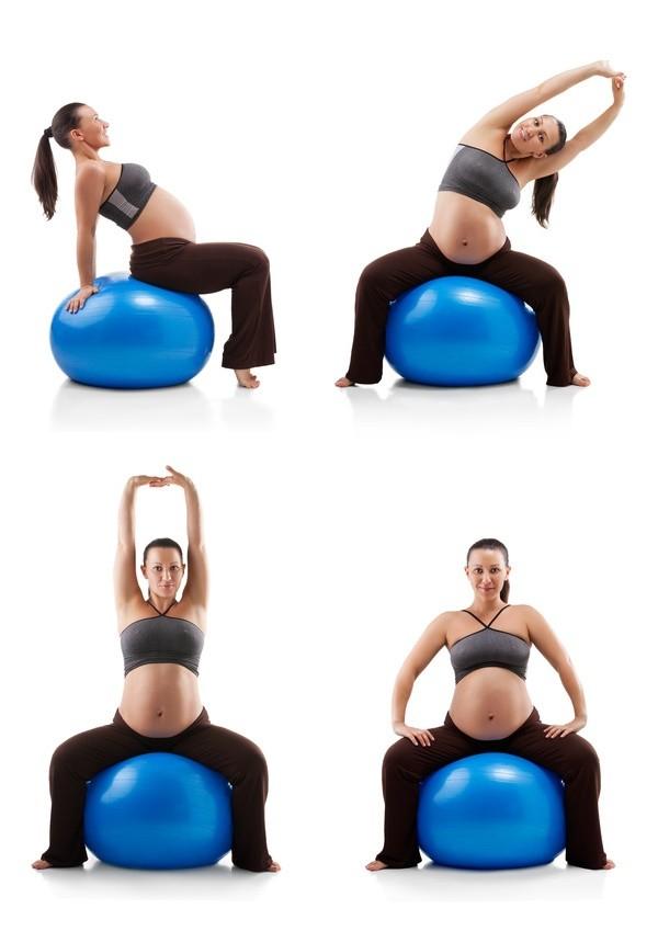 фитбол для беременных, мяч для беременной