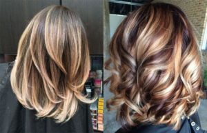 окрашивание волос, волосы балаяж, окрашивание балаяж, балаяж тёмный, балаяж цвет